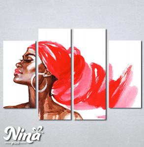Slike na platnu Afrička devojka Nina309_4
