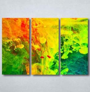 Slike na platnu Apstrakcija boje Nina090_3