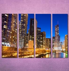 Slike na platnu Chicago Nina3095_4