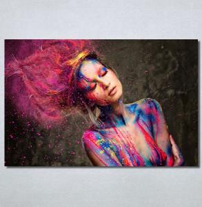 Slike na platnu Devojka boje Nina30372_P