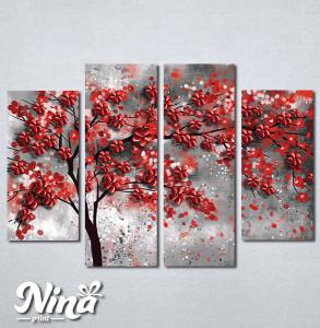 Slike na platnu Drvo crveno lišće Nina296_4
