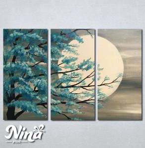 Slike na platnu Drvo i mesec Nina235_3