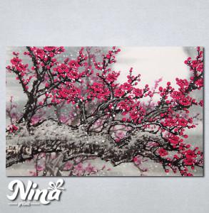 Slike na platnu Drvo roze cvet Nina234_P