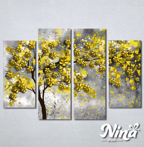 Slike na platnu Drvo žuto lišće Nina295_4