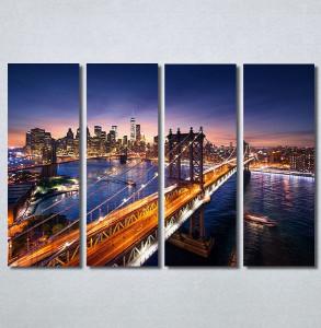 Slike na platnu Grad i most Nina30303_4