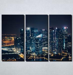 Slike na platnu Gradovi nocu Nina158_3
