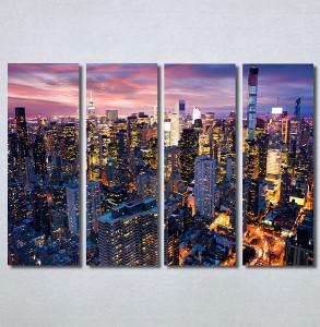 Slike na platnu Gradovi nocu Nina30315_4
