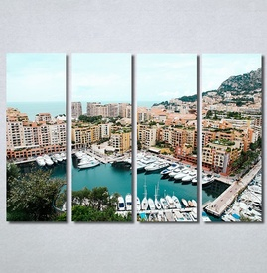 Slike na platnu Gradska luka Nina30322_4