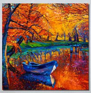 Slike na platnu Jesen art Nina30266