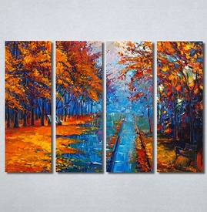 Slike na platnu Jesen u parku Art Nina 30324_4