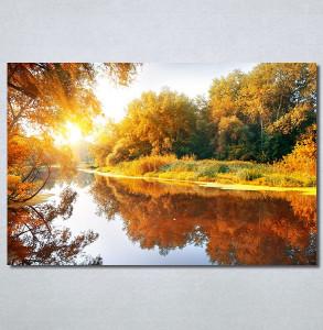 Slike na platnu Jezero u jesen Nina30368_P