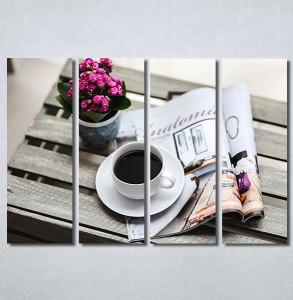 Slike na platnu Kafa i novine Nina30330_4