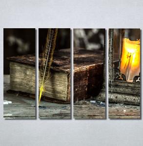 Slike na platnu Knjiga i pero Nina30326_4