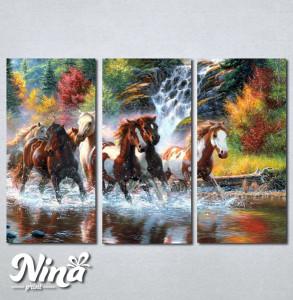 Slike na platnu Konji art Nina249_3