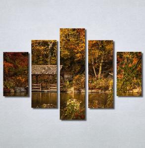 Slike na platnu Kuća na jezeru Nina30374_5