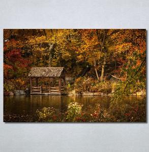 Slike na platnu Kuća na jezeru Nina30374_P