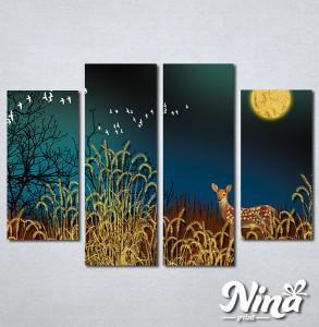 Slike na platnu Lane u šumi Nina301_4