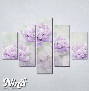 Slike na platnu Lila cvet Nina260_5