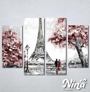 Slike na platnu Ljubav u Parizu Nina319_4