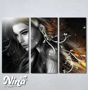 Slike na platnu Mistična devojka Nina227_3