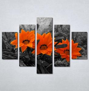 Slike na platnu Narandzasti cvet Nina128_5