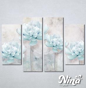 Slike na platnu Nežno plavi cvet Nina258_4
