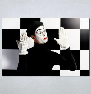 Slike na platnu Pantomimičar Nina30141_P