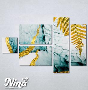 Slike na platnu Paprat apstrakcija Nina264_5