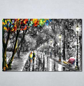 Slike na platnu Park aleja Nina202_P