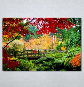 Slike na platnu Park u bojama Nina044_P