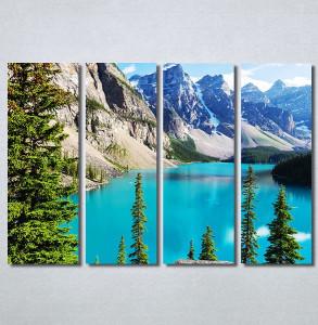 Slike na platnu Planinsko jezero Nina30297_4