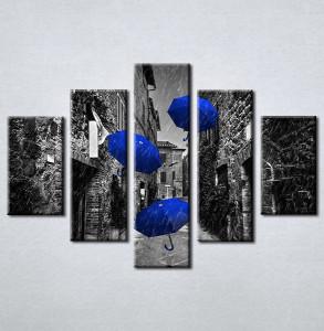 Slike na platnu Plavi kisobran Nina212_5
