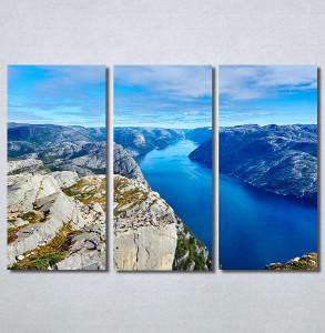 Slike na platnu Poged sa planine Nina30265_3