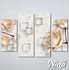 Slike na platnu Prelepe ruze Nina343_4