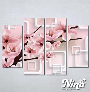 Slike na platnu Prolecni cvet Nina345_4