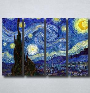 Slike na platnu Starry Night Vincent Van Gogh Nina149_4
