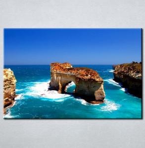 Slike na platnu Stene u moru Nina30113_P