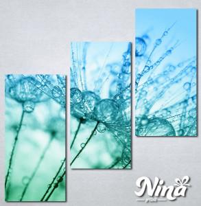 Slike na platnu Tirkizni cvet Nina267_3