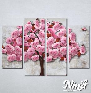 Slike na platnu Ukrasno drvo Nina340_4