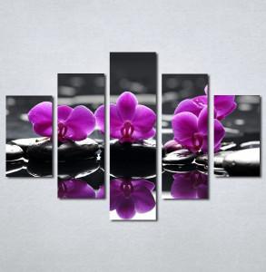 Slike na platnu Wellness spa ljubicasta orhideja Nina 183_5