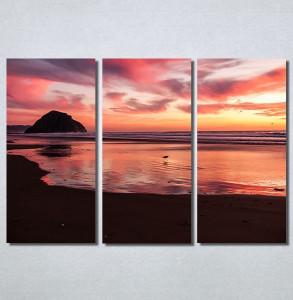 Slike na platnu Zalazak sunca na moru Nina30167_3