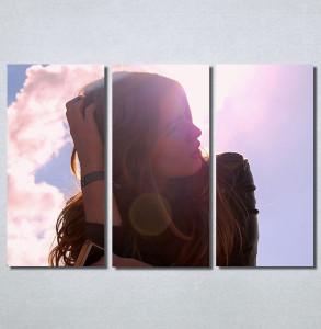 Slike na platnu Zamisljena devojka Nina30212_3