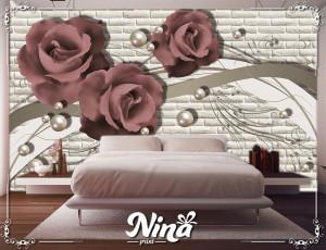 Foto tapet Ruže posebne boje Tapet295