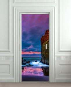Nalepnica za vrata More i stene 6151