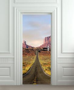 Nalepnica za vrata put kroz Arizonu 6117