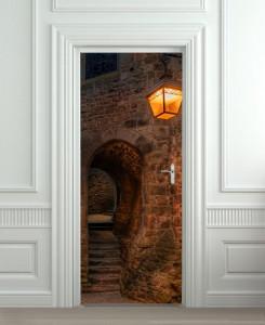 Nalepnica za vrata Ulaz u tunel 6041