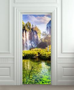 Nalepnica za vrata Vodopad 6140