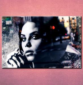 Slika na platnu Devojka portret 3028 _P