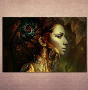 Slika na platnu Devojka sa krilima Nina3064_P