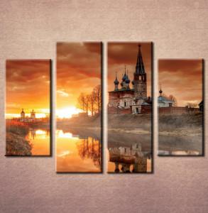 Slika na platnu Dvorac na jezeru Nina3078_4